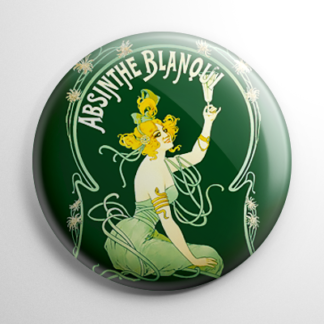 Absinthe - Blanqui Button