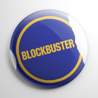 VHS Video Tape - Blockbuster Button