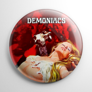 Horror - Demoniacs Button