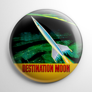 Science Fiction - Destination Moon Button