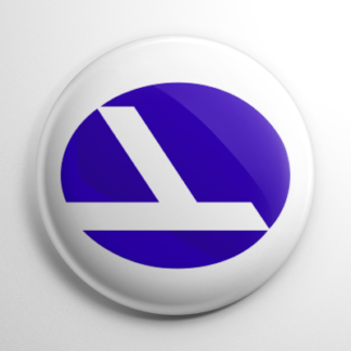 Eastern Air Lines (B) Button