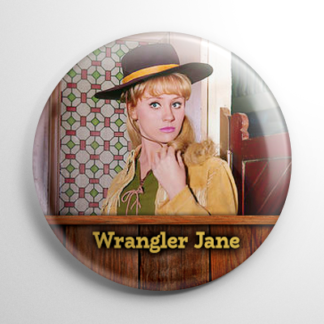 TV Shows - F Troop: Wrangler Jane Button