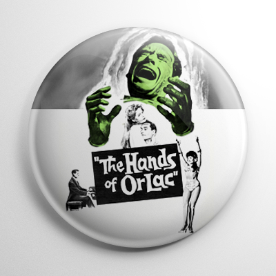 Horror - Hands of Orlac Button