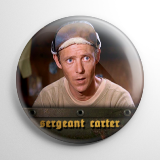 TV Shows - Hogan's Heroes: Sergeant Carter Button
