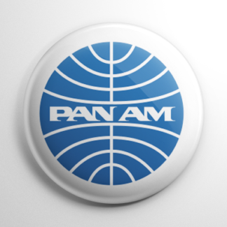 Pan Am Airways Button