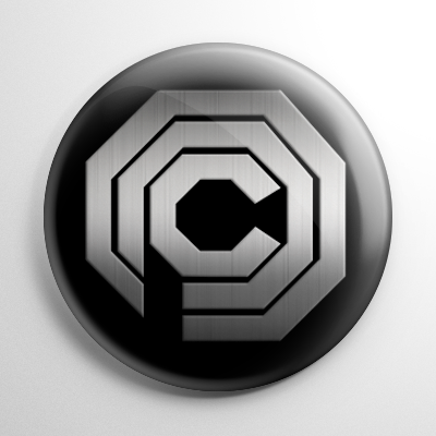 Science Fiction - RoboCop Omnicorp Button