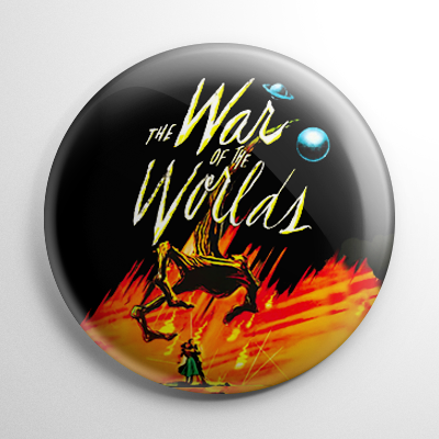 Science Fiction - War of the Worlds Button