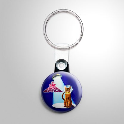 Science Fiction - Cat from Outer Space Keychain