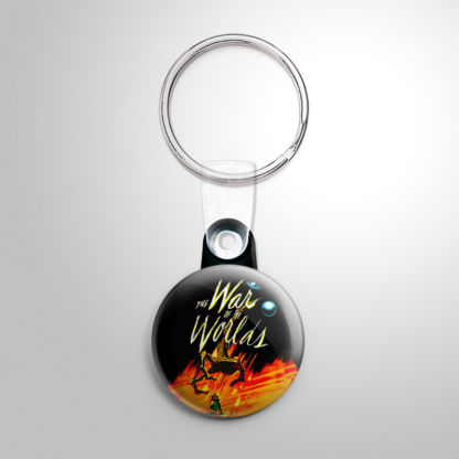 Science Fiction - War of the Worlds Keychain
