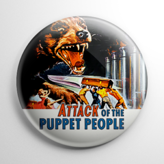 Horror - Attack of the Puppet People Button