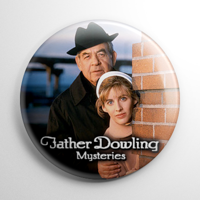 TV Shows - Father Dowling Mysteries (B) Button