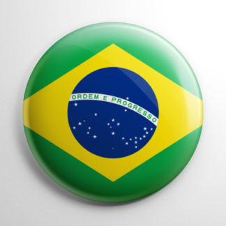 Flags - Brazil Button