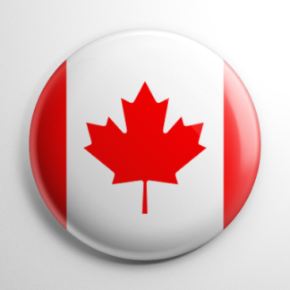 Flag - Canada Button