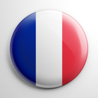 Flags - France Button