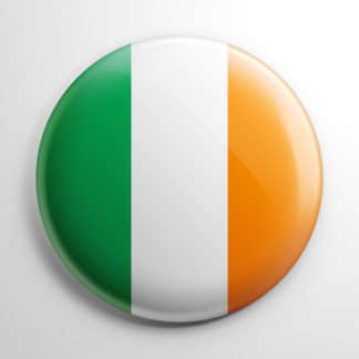 Flags - Ireland Button