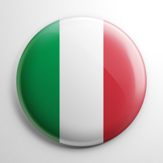Flags - Italy Button