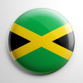 Flag - Jamaica Button