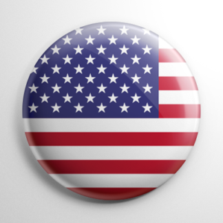 Flags - United States Button