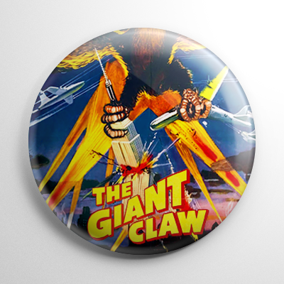 Horror - Giant Claw Button