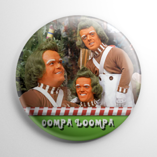 Willy Wonka - Oompa Loompa (A) Button