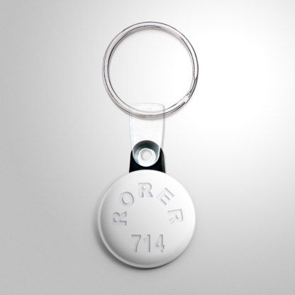 Novelty - Quaalude Pill Button/Keychain