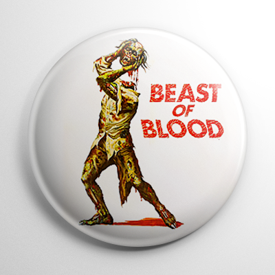 Horror - Beast of Blood Button