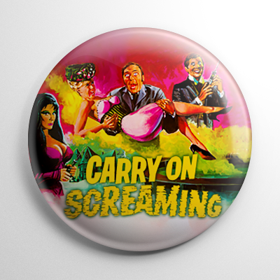 Horror - Carry On Screaming Button