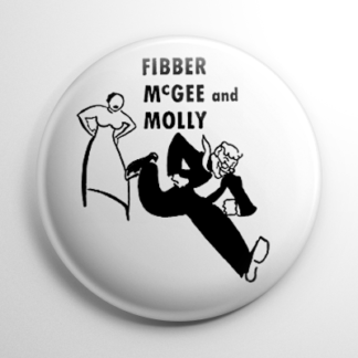 Radio - Fibber McGee and Molly Button