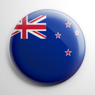 Flag - New Zealand Button