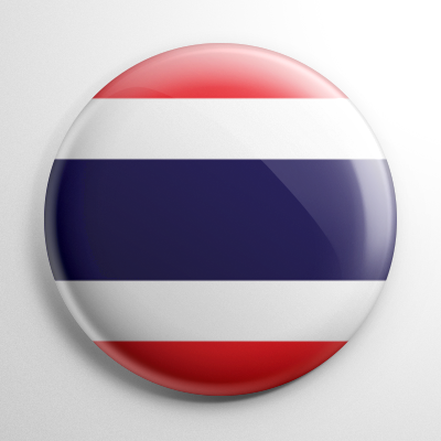 Flag - Thailand Button