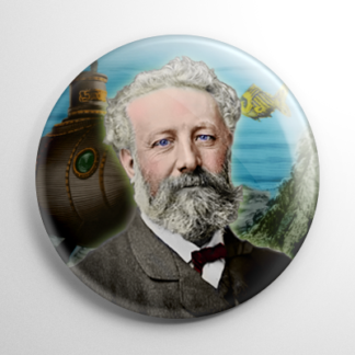 Dark Icons - Jules Verne Button