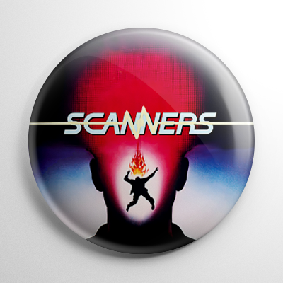 Horror - Scanners (C) Button