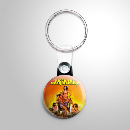 Grindhouse - Ricco the Mean Machine Keychain