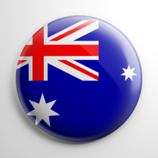 Flag - Australia Button