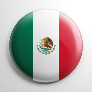 Flag - Mexico Button
