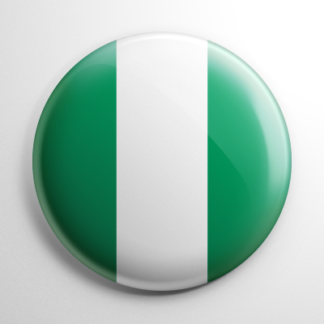 Flag - Nigeria Button