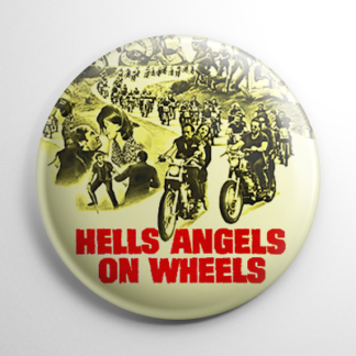Grindhouse - Hells Angels On Wheels Button
