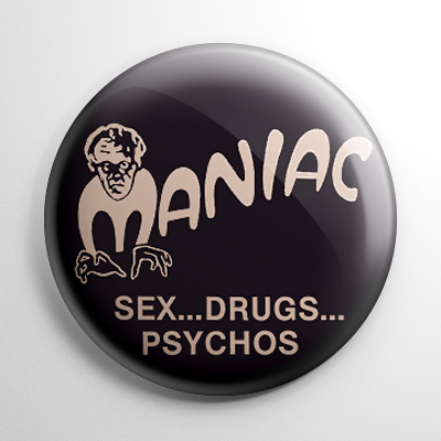Grindhouse - Maniac 1934 Button