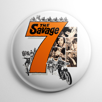 Grindhouse - Savage Seven Button