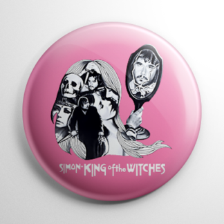 Horror - Simon King of the Witches Button