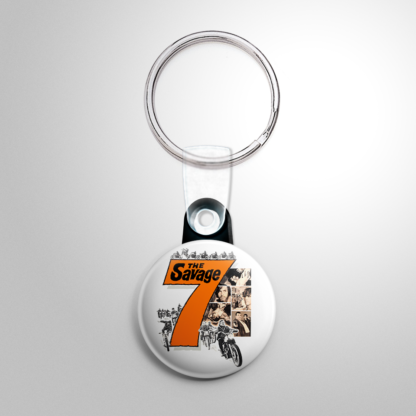 Grindhouse - Savage Seven Keychain