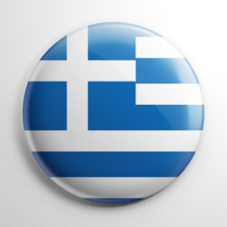 Flag - Greece Button