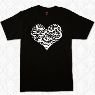 T Shirt - Bat Heart