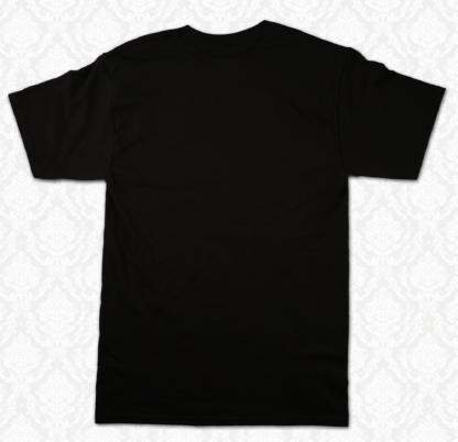 T Shirt - Back Black