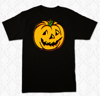 T Shirt - Vintage Halloween Pumpkin