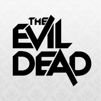 Vinyl Decal - Evil Dead Black