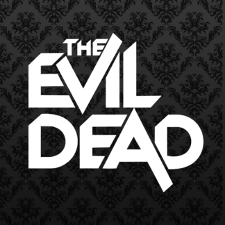 Vinyl Decal - Evil Dead White