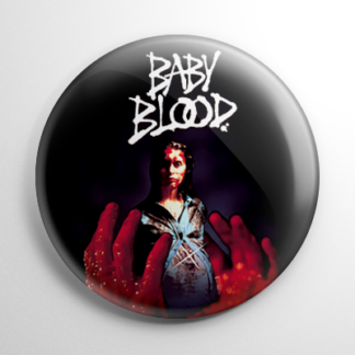 Horror - Baby Blood Button