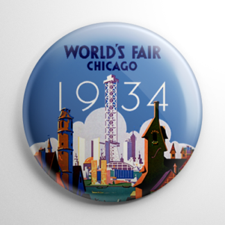 Chicago World's Fair 1934 Button