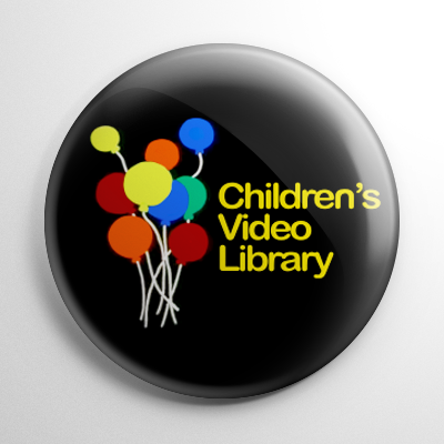 VHS - Children's Video Library Button